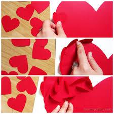 diy wall art hearts
