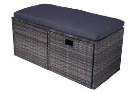 outdoor wicker storage bench fantastic ivy reviews wing by christopher knight home