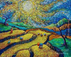 toil today dream tonight painting vincent van gogh toil today dream tonight art painting