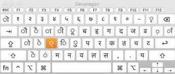 Hindi Keyboard Chart Pdf How To Type Hindi On A Macbook Quora