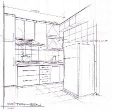 simple kitchen drawing. kitchen drawing modern with photo of model new on simple