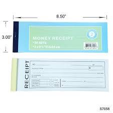 Receipt Book Money Receipt 2 Carbons
