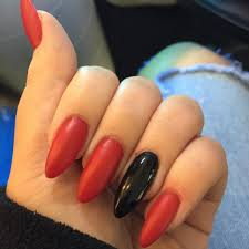 29+ Red Acrylic Nail Art Designs , Ideas | Design Trends - Premium ...