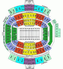Everbank Stadium Seat Map Everbank Field Seating Chart