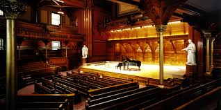 Sanders Theatre Boston Chamber Music Society