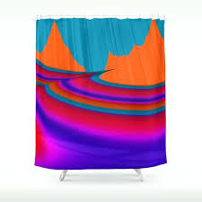 shower curtain two mountain peaks abstract art by mountain shower curtain shower curtain two mountain peaks mountain scene shower curtain