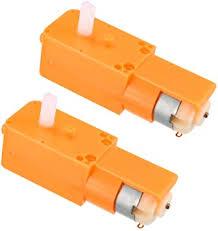 uxcell <b>DC3</b>-<b>6V</b> 70-150RPM 1:130 <b>Double Shaft</b> DC Geared TT ...