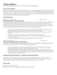 Sample Salesperson Resume Real Estate Salesperson Resume Resume Template For Real Estate