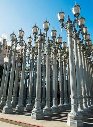 Urban Light By Chris Burden At The Lacma Los Angeles