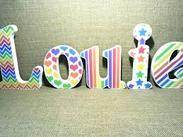 wooden letters for nursery wooden letters decor wood letter wall of worthy how to decorate letters