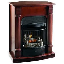 vent free lp gas fireplace compact vent free gas fireplace dual use surround thermostat control natural