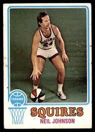Amazon.com: 1973 Topps # 188 Neil Johnson Virginia Squires (Basketball  Card) GOOD Squires Creighton: Collectibles & Fine Art