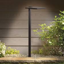 K LED Shallow Shade Path Light Small - Kichler exterior lighting