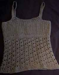 Crochet Tank Top Pattern Extraordinary Over 48 Free Crocheted Tops At AllCraftsnet