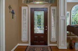 front door sidelight blindsShutters for Sidelight Windows  Traditional  Entry  Houston