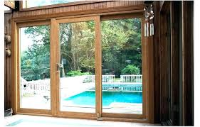 sliding glass doors patio door large cost
