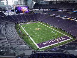 U S Bank Stadium Section 331 Seat Views Seatgeek