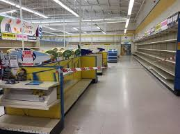 bare shelves at toys r us in lincoln