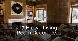 17 brown living room decor ideas