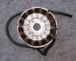 ac alternator coil winding connections theory this stator has 3 wires 2 yellow and 1 red and i m let to believe that there is 2 separate circuits coils windings and that one end of each winding is