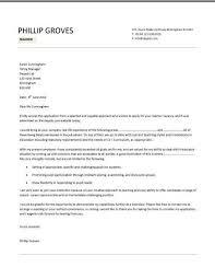 Cover Letter For Retired Teacher Zonazoom Com