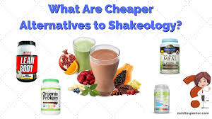 what are er alternatives to shakeology and how they compare