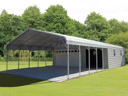 combo carport garage attached