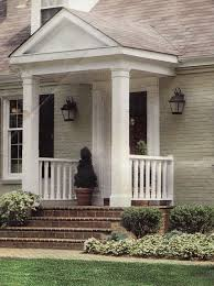 portico | for your viewing pleasure a close up of the inspiration. Small Front  PorchesFront ...