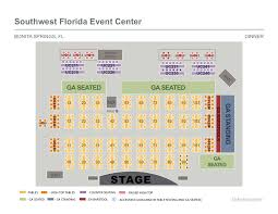 Seat Map Southwest Florida Event Center