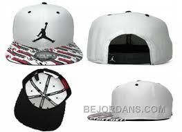Big Discount Air Jordan Snapbacks Blanc Noir 5hah7 Price