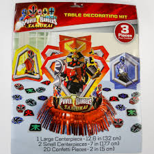 power rangers table decorating kit