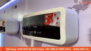 TDM.VN | Review máy nước nóng Ariston SL2 Slim2 LUX ECO 30L - 30 lít gián  tiếp - YouTube