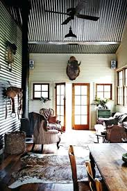 corrugated metal ceiling installation awesome hayloft