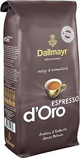 To make their beloved coffee products, dallmayr gathers the finest coffee beans from brazil, colombia, papua new guinea, and ethiopia shop supermarket italy for dallmayr ground and whole bean coffee. Dallmayr Espresso D Oro Coffee Beans 1 00kg Skinflint Price Comparison Uk