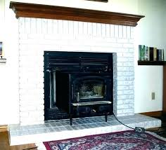 awesome painted brick fireplace and white brick fireplace ideas white painted brick fireplace painted brick fireplace
