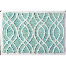mohawk home bath rug rococo aqua 20 x 32