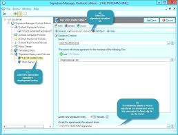 How To Create An Email Template In Outlook 2010 Outlook 2010 Signature Template Professional Email Signature
