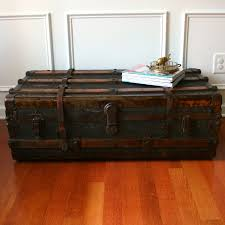 image of trunk coffee table set
