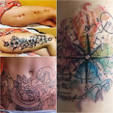 тату чтобы закрыть шрамы на руках тату на шрамах изящно
