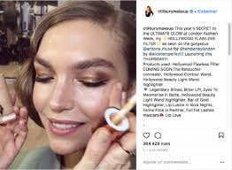 makeup artist and cosmetics entrepreneur charlotte tilbury teased her latest new beauty launch on insram