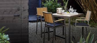crate and barrel outdoor furniture. Minimalist Backyard Decor With Enchanting Crate Barrel Outdoor Dining Sets, Square Shaped Table, And Furniture