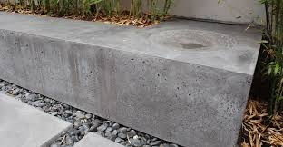 modern concrete patio. Outdoor Concrete Patio, Planter And Bench By Brian McLean | Exchange Modern Patio I