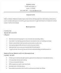 Examples Of Resumes For High School Students With No Experience Enchanting Resume For High School Student With No Work Experience Pdf