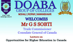dgc welcomes mr gs sobti trade commissioner consulate general of dgc welcomes mr gs sobti trade commissioner consulate general of doaba group of colleges