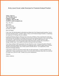 Cover Letters For Job Fairs 10 Cover Letter For Analyst Position Proposal Sample