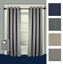 grand pointe room darkening thermal grommet curtain panels trellis