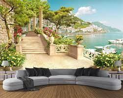 Custom Wallpaper Garden Balcony ...