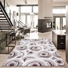 modern quality designer contemporary rugs extra large black grey