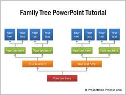 tree in powerpoint family tree powerpoint tutorial jpg