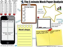 gcse revision mats mathedup 5 minute mock paper analysis